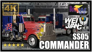 Wei Jiang MW COMMANDER Oversize Transformers SS05 Studio Series Voyager Optimus Prime