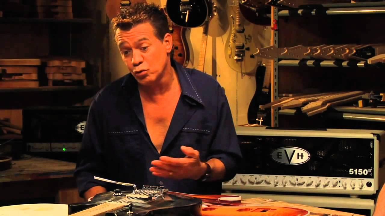 Eddie Van Halen Wolfgang Guitar Series Youtube