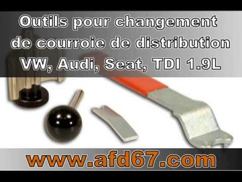 changement courroie de distribution pour vw audi seat tdi 1 9 l youtube. Black Bedroom Furniture Sets. Home Design Ideas