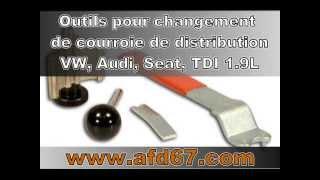 Changement Courroie de Distribution pour VW, AUDI, SEAT, TDI 1.9 L