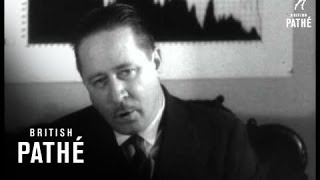 "Robert Benchley - ""The Causes Of The Depression"" Aka The Caves Of Depression (1930-1931)"