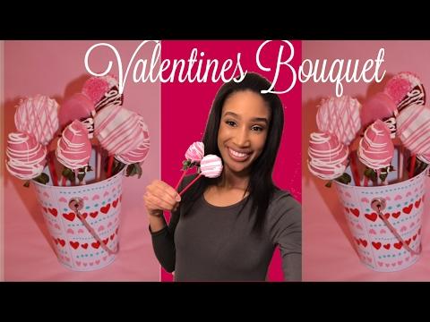 DIY Valentine's Day Dessert: Dipped Strawberries/ Cookie Pops