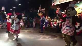 Final do Mickey's Backyard BBQ - Walt Disney World