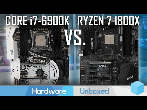 Ryzen 7 1800X Vs. Core I7 6900K, AMD's Half-Price 8-Core CPU In 2019