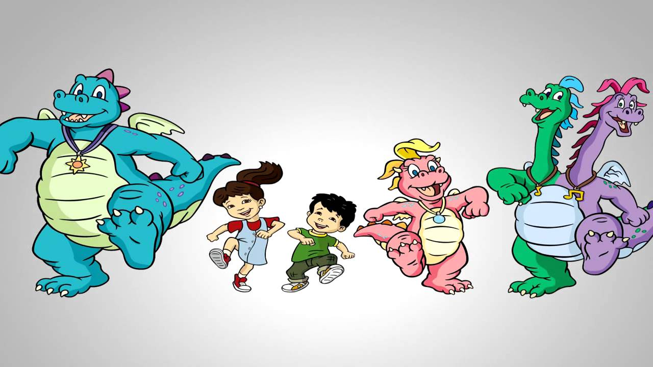 Dragon Tales Theme Song Hd Youtube