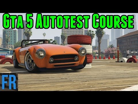 Gta 5 Mods - Autotest Course