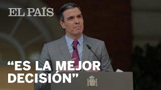 SÁNCHEZ anuncia la aprobación de los INDULTOS