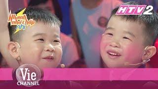 """5 tuổi đã sợ mập: Nhí """"mắt híp"""" đáng yêu khiến Trấn Thành nể phục   NHANH NHƯ CHỚP NHÍ - Tập 11"""