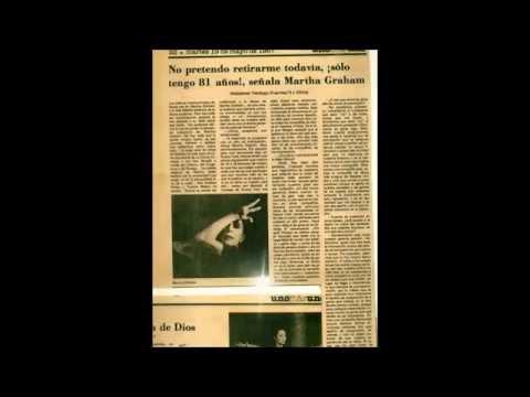 Martha Graham entrevista Waldemar Verdugo Fuentes