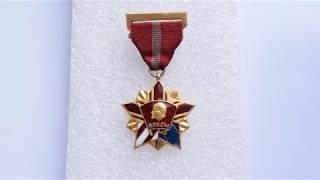 Обзор на знак Высшая Награда Комсомола Почетный Знак ВЛКСМ СССР