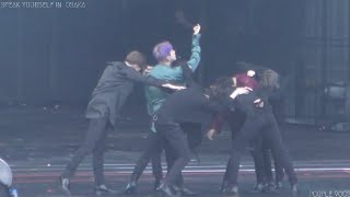 190706 BTS 방탄소년단 FAKE LOVE V 뷔 Focus (4K) @ SPEAK YOURSELF IN OSAKA