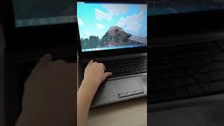 Игра в Minecraft выживание на высокой горе / Видео