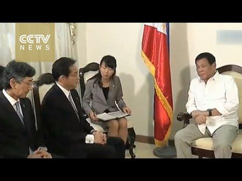 Japan FM Kishida seeks security talks with Manila