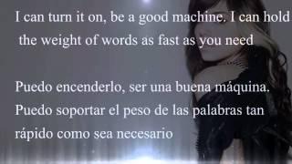 Repeat youtube video Christina Perri - Human Lyrics/letra English/Español sub