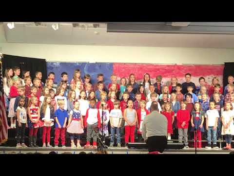 Runyon Elementary School Veteran's Day Concert 2017 - song 4