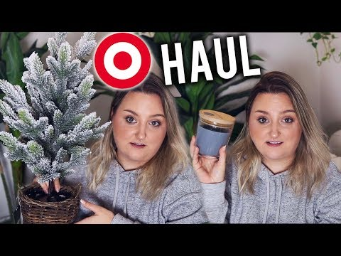 HOME DECOR HAUL | TARGET, CRATE & BARREL, BED BATH & BEYOND