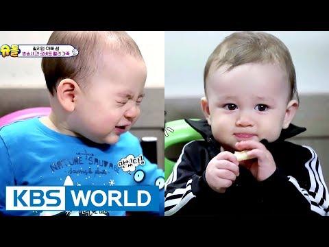 William & Yuseop! 9 month old buddies meet! [The Return of Superman / 2017.06.04]