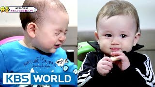 William & Yuseop! 9 month old buddies meet! [The Return of Superman / 2017.06.04]