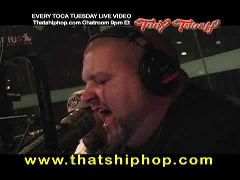 LA COKA NOSTRA FREESTYLE ON TOCA TUESDAY WITH DJ TONY TOUCH SHADE 45