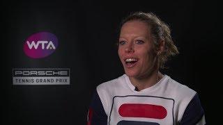 Interview Laura Siegemund (GER) – Porsche Tennis Grand Prix 2019