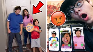 DO NOT CALL RYAN AND HIS PARENTS (FROM RYAN'S WORLD) AT THE SAME TIME!! *THEY CAME TO MY HOUSE*