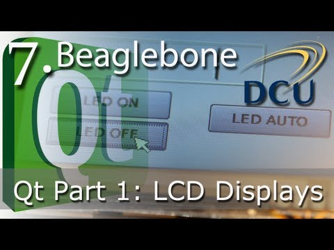 Beaglebone: LCD Touchscreen GUI Applications for Embedded Linux