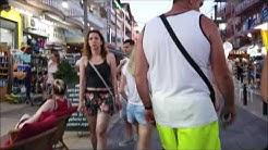 Paralia Katerinis Greece summer walk - Παραλία Κατερίνης