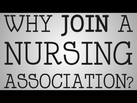 Nursing School | Why Join A Nursing Association?