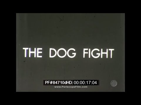 The Dog Fight - WWI Dog Fight Aerial Combat Vintage Silent Movie 18fps 84710d HD