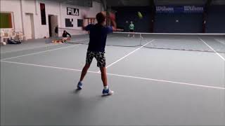 Tennis Drills - How you can improve a forehand within 15 minutes - Corrective drill