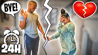 WE BROKE UP FOR 24 HOURS 💔