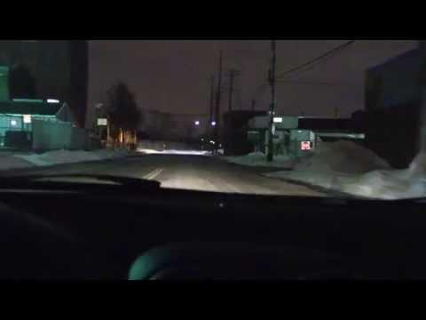Cruising Down W. Jefferson. Delray. Detroit, Mich