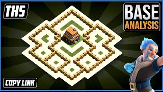 THE BEST TH5 HYBRID/TROPHY Base 2021!! COC Town Hall 5 (TH5) Trophy Base Design - Clash of Clans screenshot 4