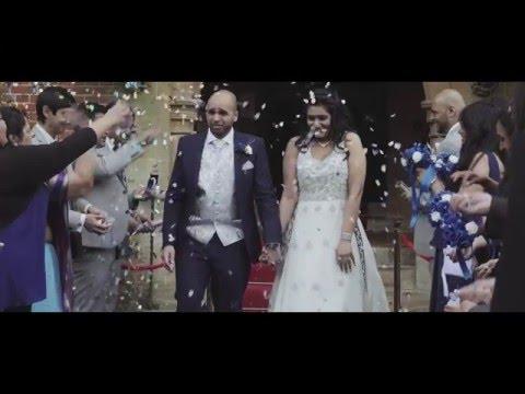 Wedding teaser trailer at Grim's Dyke Hotel Harrow Weald & Dhamecha Lohana Center