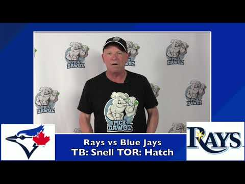 Tampa Bay Rays vs Toronto Blue Jays Free Pick 7/26/20 MLB Pick and Prediction