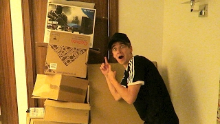 BOXED IN HIS ROOM PRANK