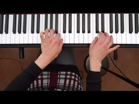 The Juggler - Piano Adventures Level 1 demo Piano Tutorial