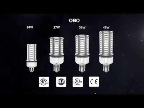 Lámpara led Nueva Generación anticontaminación lumínica, para varola vertical.