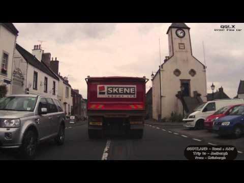 QQLX 0177 SCOTLAND - Road A68 - Trip to Jedburgh from Edinburgh - Street View Car 2014