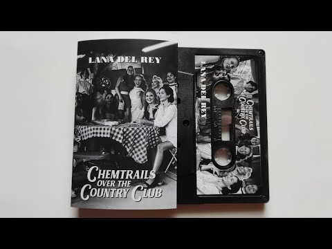 Lana Del Rey - Chemtrails Over The Country Club / cassette unboxing Black #1 /