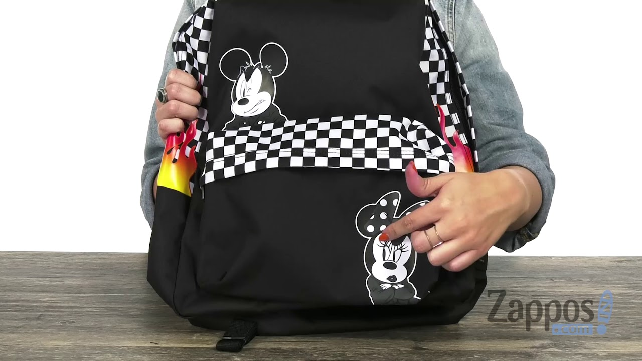 782bf87109719 Vans Mickey s 90th Punk Mickey Realm Backpack SKU  9188280 - YouTube