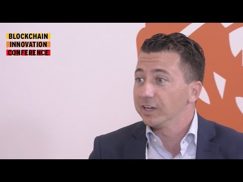Interview with Ivar Wiersma, ING | Blockchain Innovation Conference #BIC17