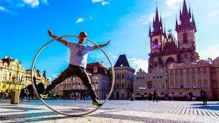 RING of Death!!! Spinning through Prague!