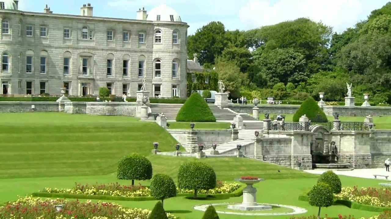 Irland Powerscourt House Youtube
