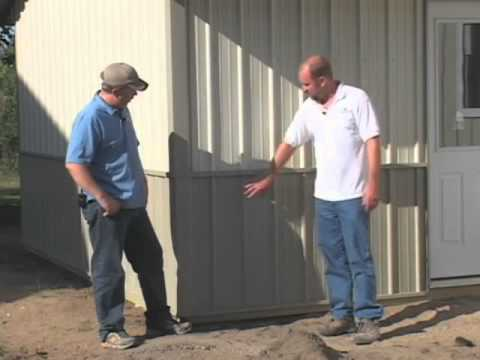 Steel Pole Barn Affordable Steel Pole Barns Youtube