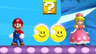 New Super Mario Bros. U Deluxe - Coin Battle (Peachette vs. Mario)