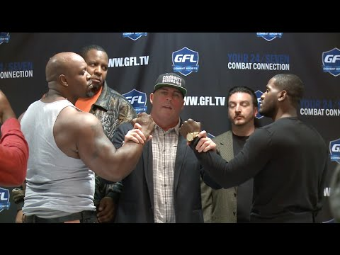 Big Brody & Tyrone Bump Heads During Celebrity Boxing Press Conference