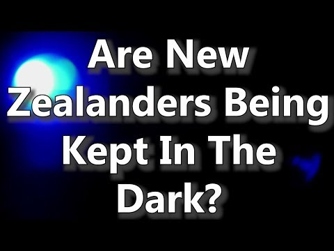 Are New Zealanders Being Kept In The Dark?