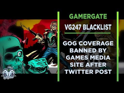 VG247 pulls support and coverage of GOG following pro Gamergate Tweet
