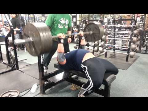 Chad Dresden 405x6 Close Grip Bench Press